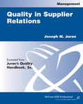 Quality in Supplier Relations